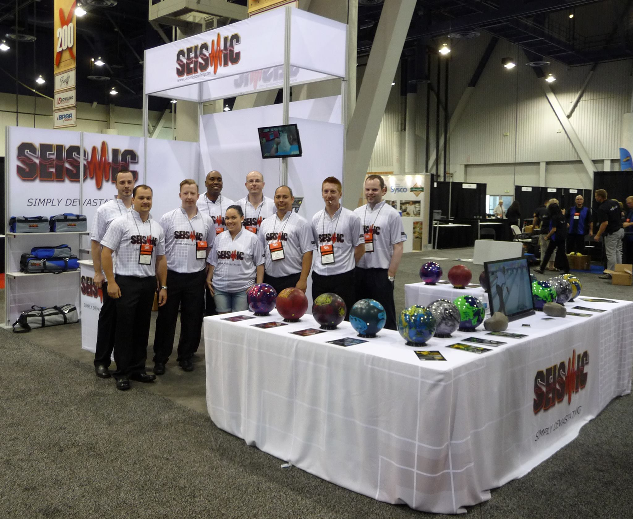 Bowl Expo Booth 2013
